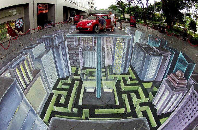 3D Street Art Singapore