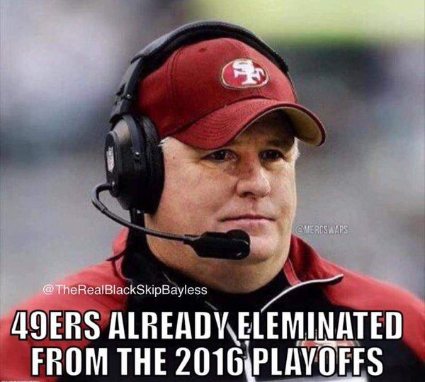 49ers Already Eliminated
