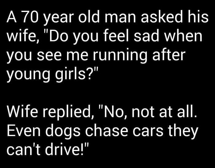 A 70 Year Old Man
