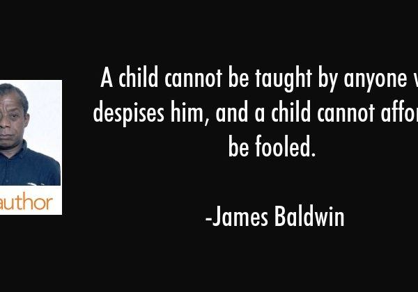 A Child Cannot Be Taught