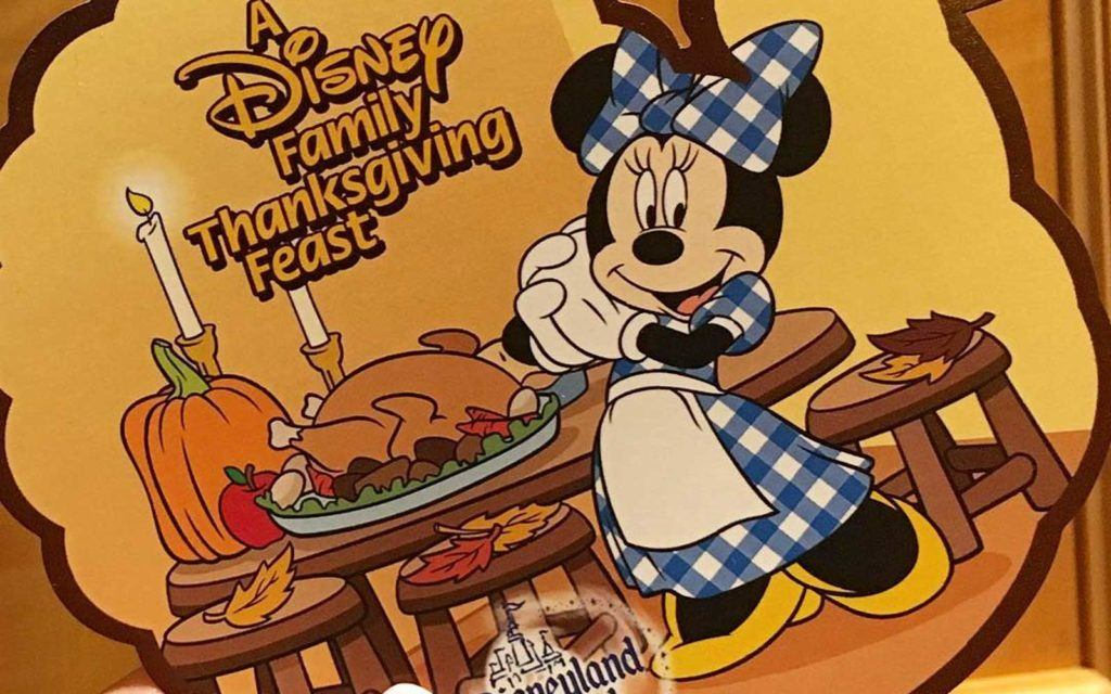 A Disney Family Thanksgiving Feast