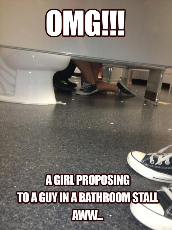 A Girl Proposing To A Guy
