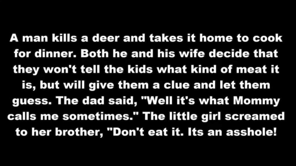 A Man Kills A Deer