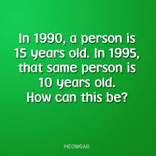 A Person Is 15 Years Old