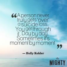 A Person Never Truly Gets Over