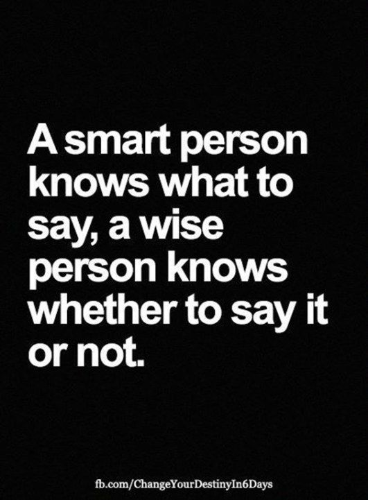 A Smart Person Knows