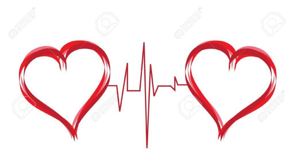Abstract Hearts Symbol
