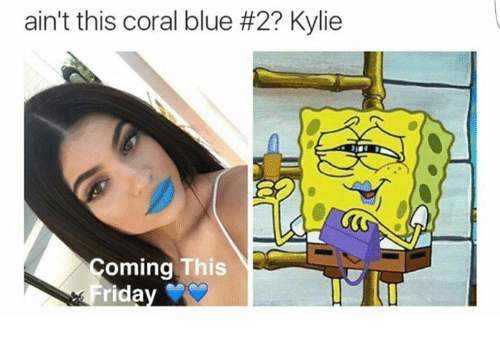 Ain't This Coral Blue
