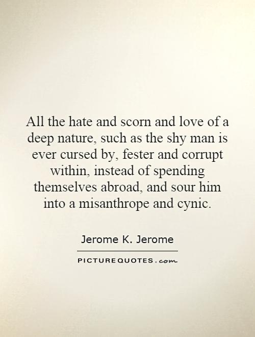 All The Hate And Scorn