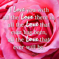 All The Love That Ever Will Be