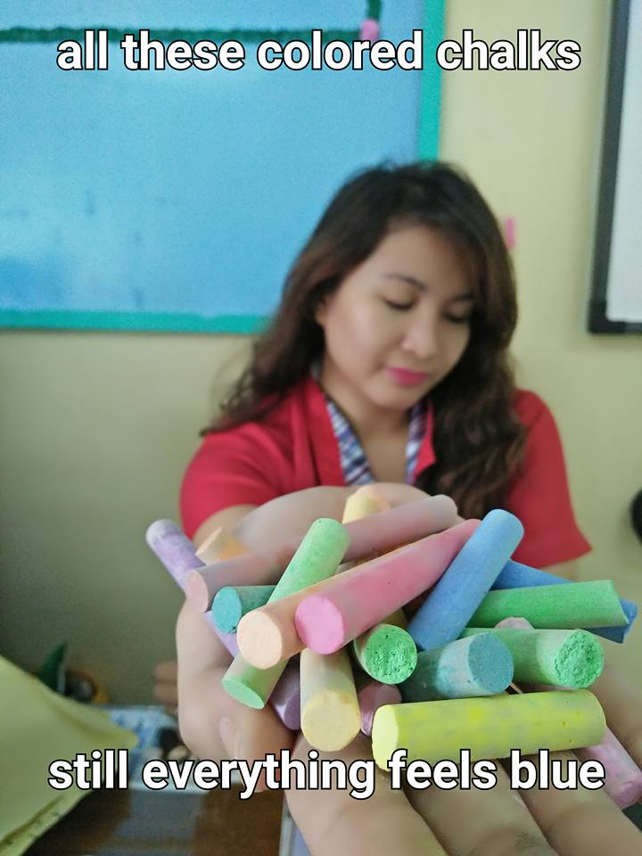 All These Colored Chalks