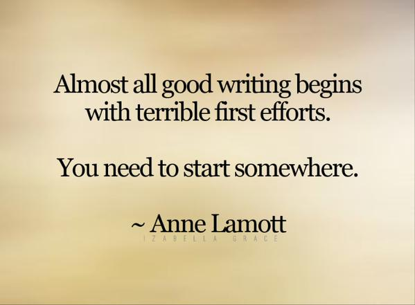 Almost All Good Writing