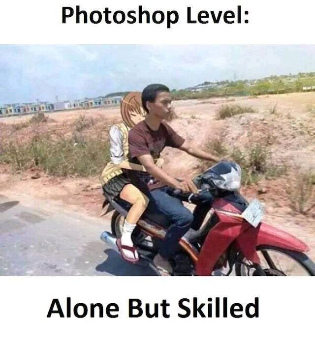 Alone but Skilled