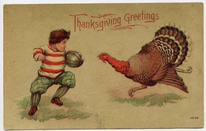 American Football On Thanksgiving
