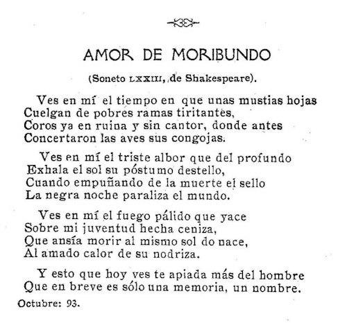 Amor de Moribundo