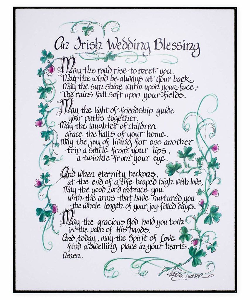 An Irish Wedding Blessing