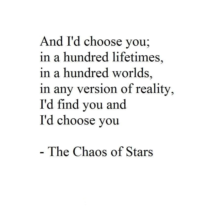 And I'd Choose You