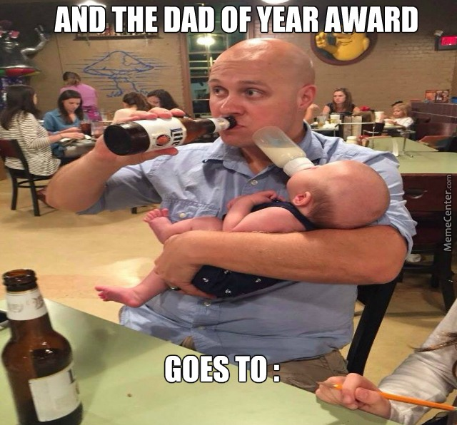 And The Dad Of Year Award