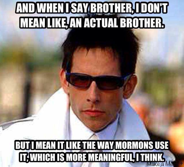 And When I Say Brother