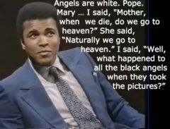 Angels Are White