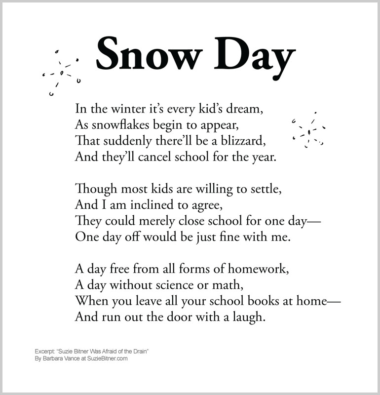As Snowflakes Begin To Appear