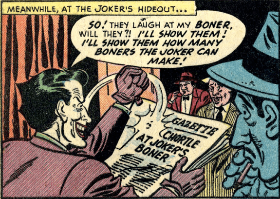At The Joker's Hideout