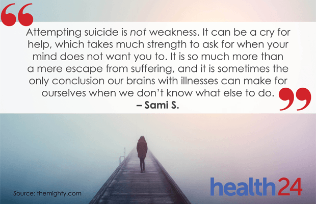Attempting Suicide Is Not Weakness