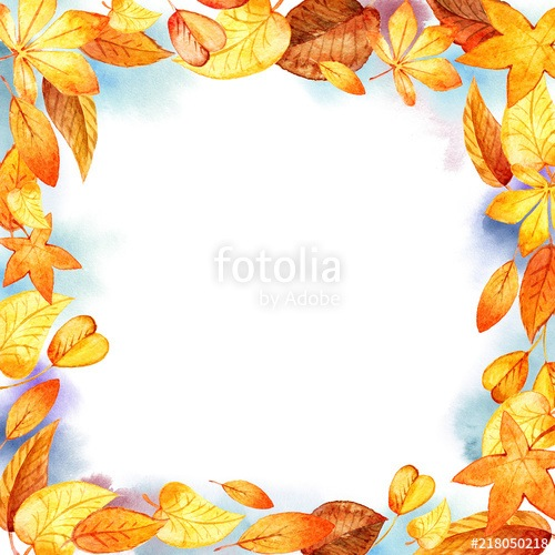 Autumn Leaves Fall Frame
