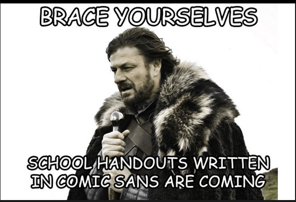 BRACE YOURSELVES..