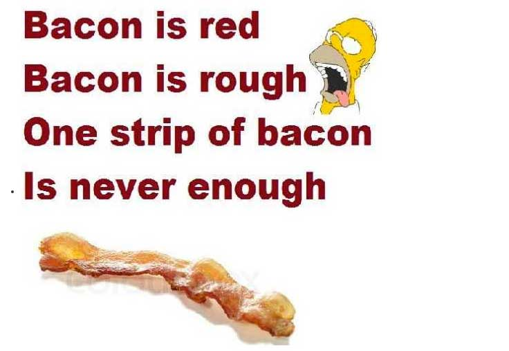 Bacon is Red