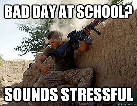 Bad Day At School