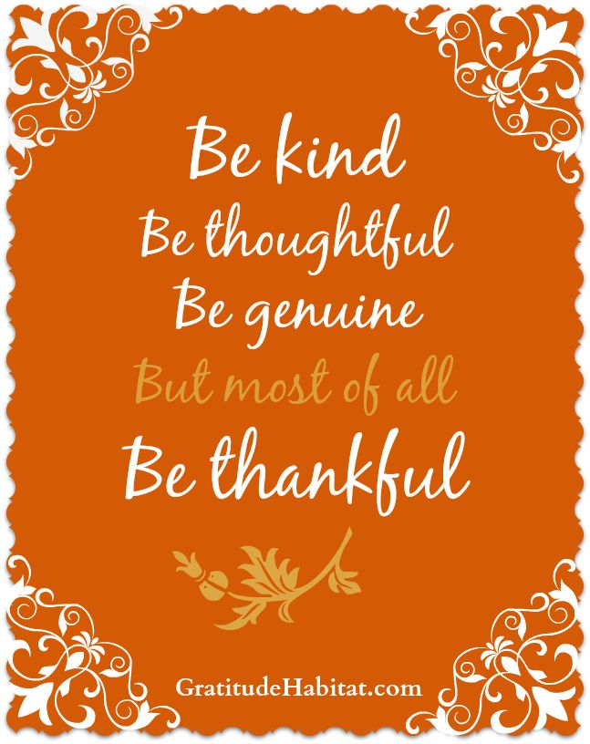 Be Kind Be Thoughtful Be Genuine