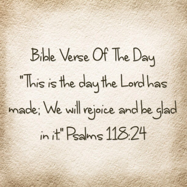 Bible Verse Of The Day
