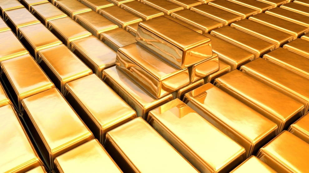 Big Stock Gold Bars