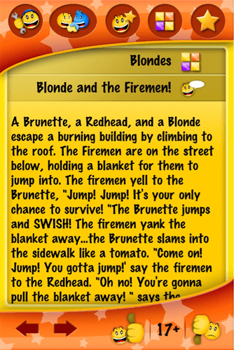 Blonde And The Firemen