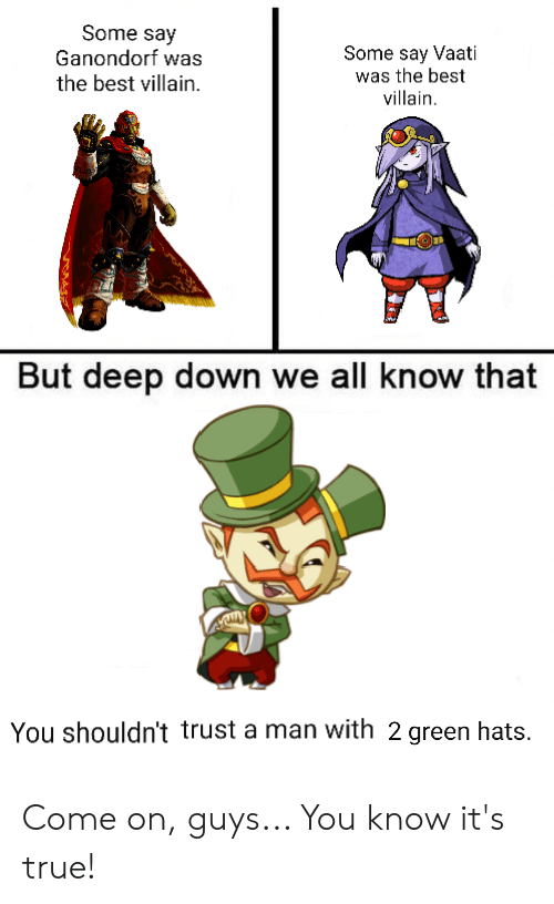 But Deep Down We All Know