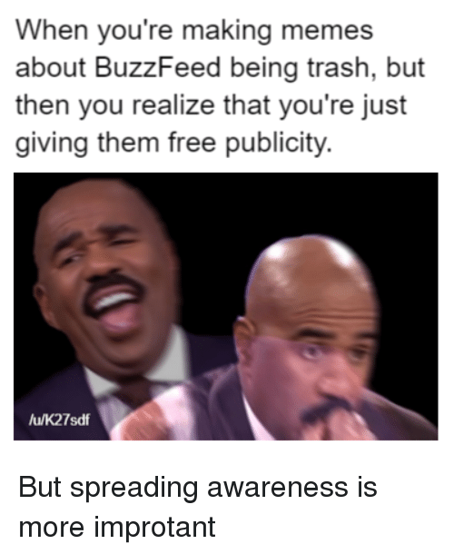 But Spreading Awareness