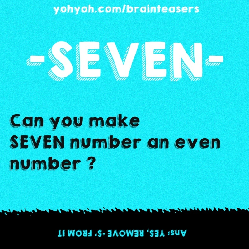 Can You Make Seven Number