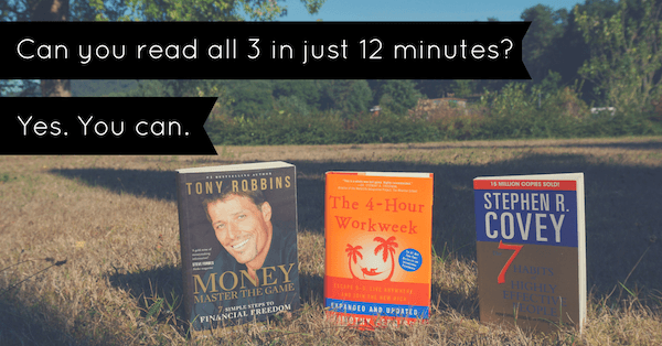 Can You Read All 3 In Just 12 Minutes