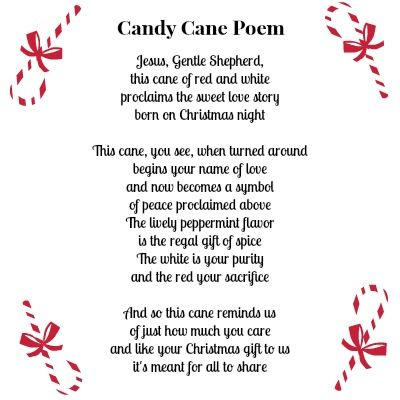 Candy Cane Poem