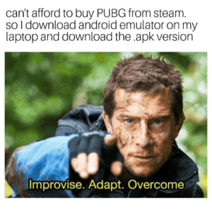 Can't Afford To Buy PUBG