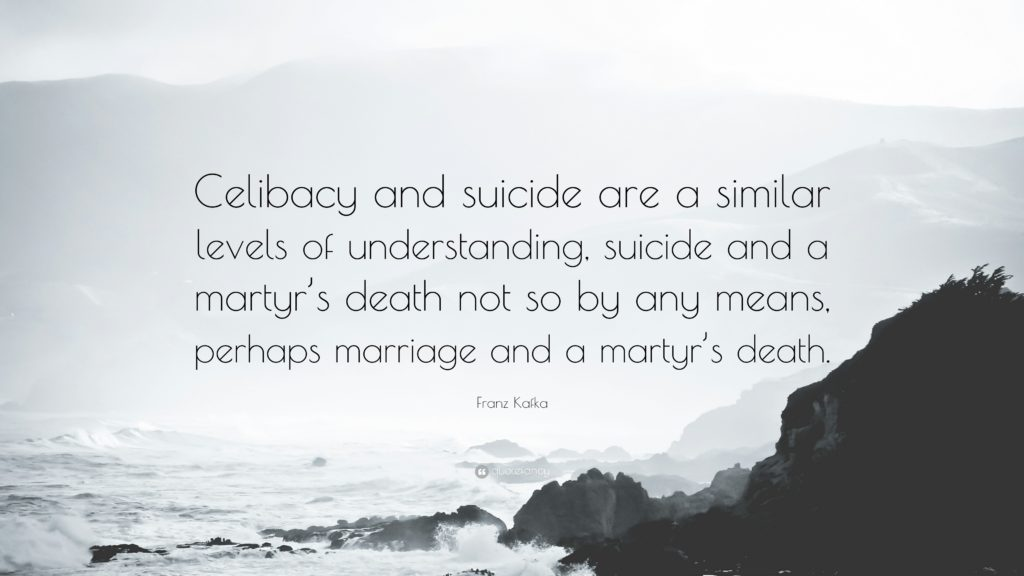 Celibacy And Suicide