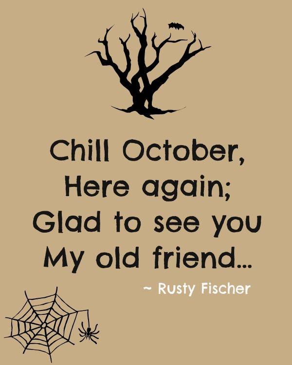 Chill October