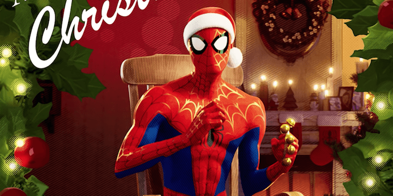 Christmas Spider Man