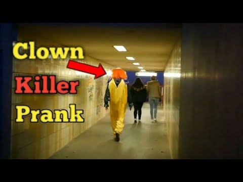 Clown Killer Prank