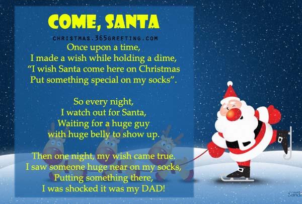 Come, Santa