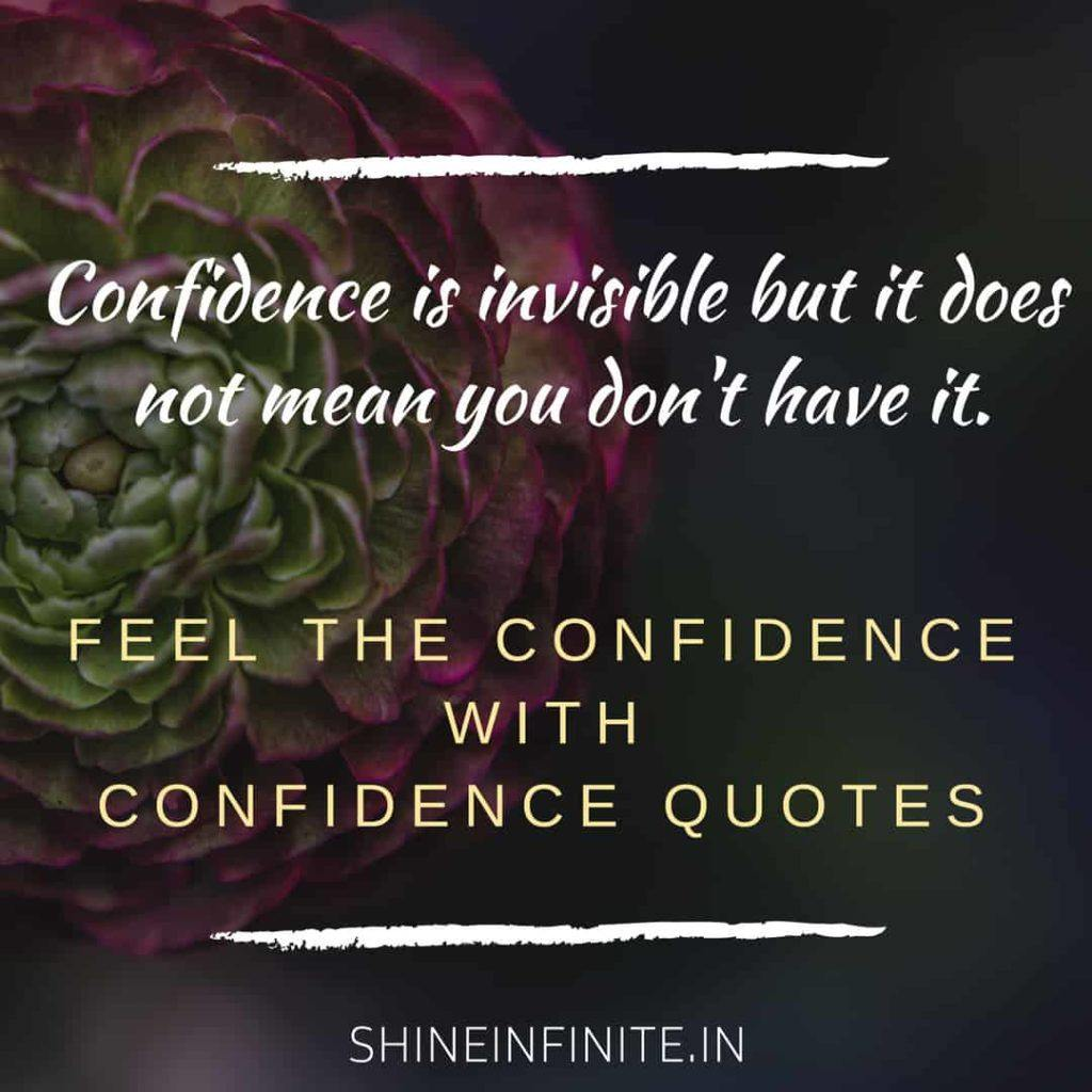 Confidence Is Invisible