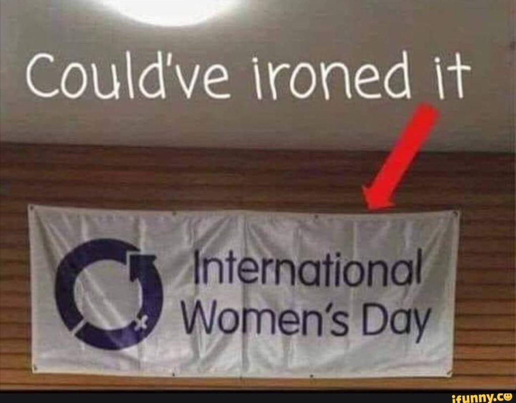 Could've ironed it