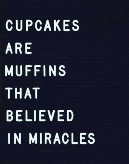 Cupcakes Are Muffins