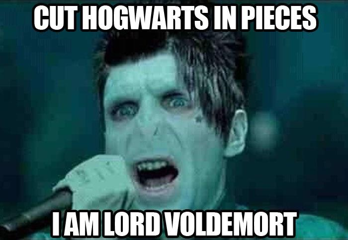 Cut Hogwarts In Pieces